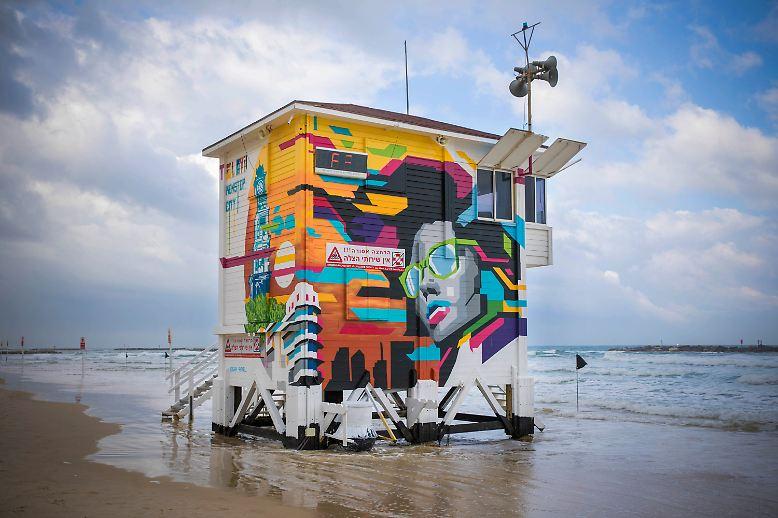 Schalom und Boker Tov! Direkte Strandlage - was will man mehr. Der Frishman-Beach ist einer der beliebtesten in Tel Aviv.