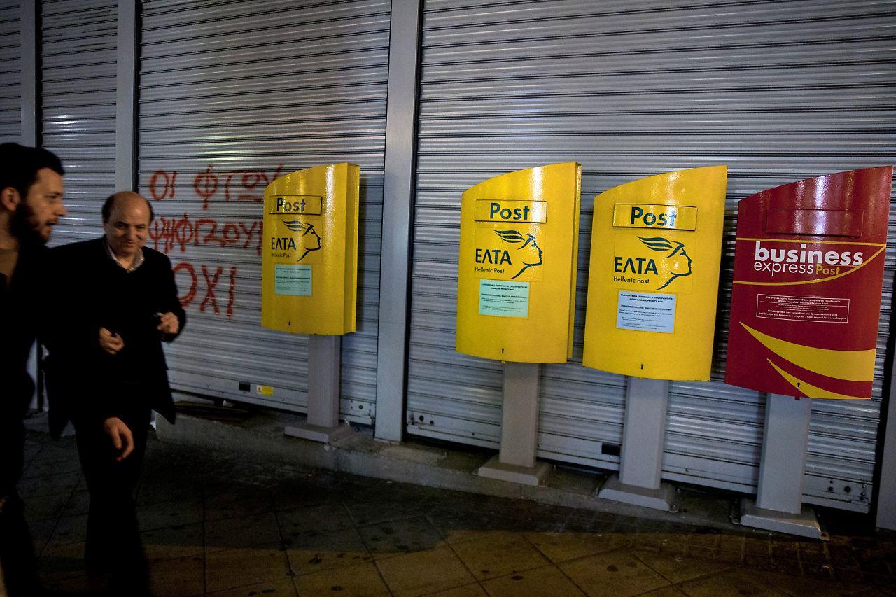 Briefe Mit Absender : Explosive post aus griechenland experten fangen in athen