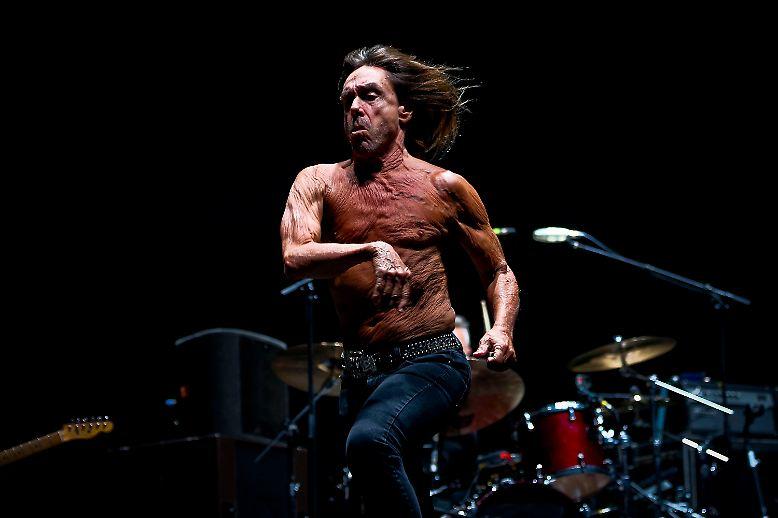 ... und fast immer trägt ihn Iggy Pop nackt zur Schau - dabei wird er nun, am 21. April 2017, immerhin doch schon 70 Jahre alt.