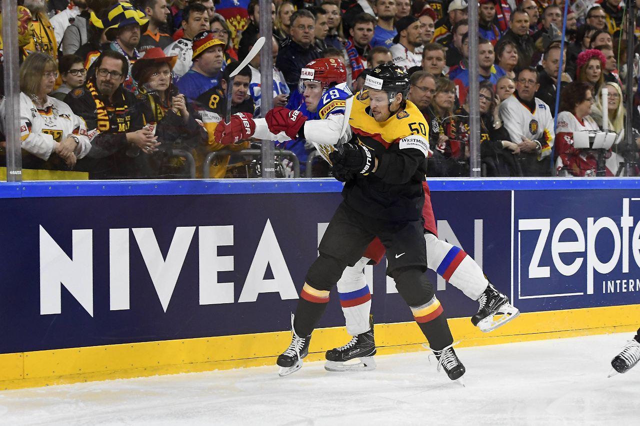 Eishockey: Zwei WM-Spiele Sperre für Eishockey-Nationalspieler Hager