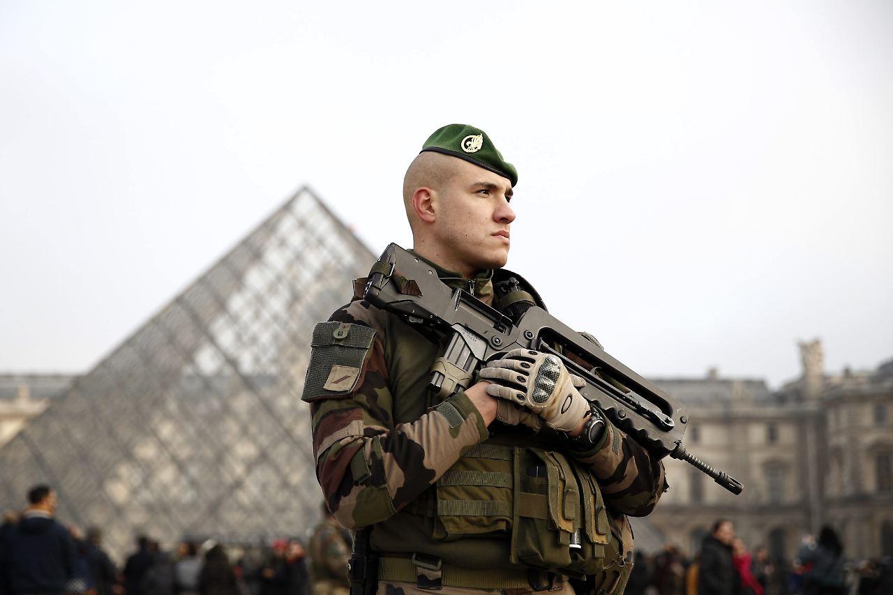 Website der französischen Armee