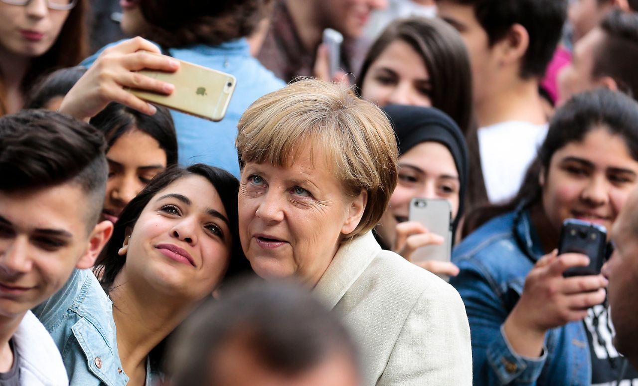 Merkel Wählen