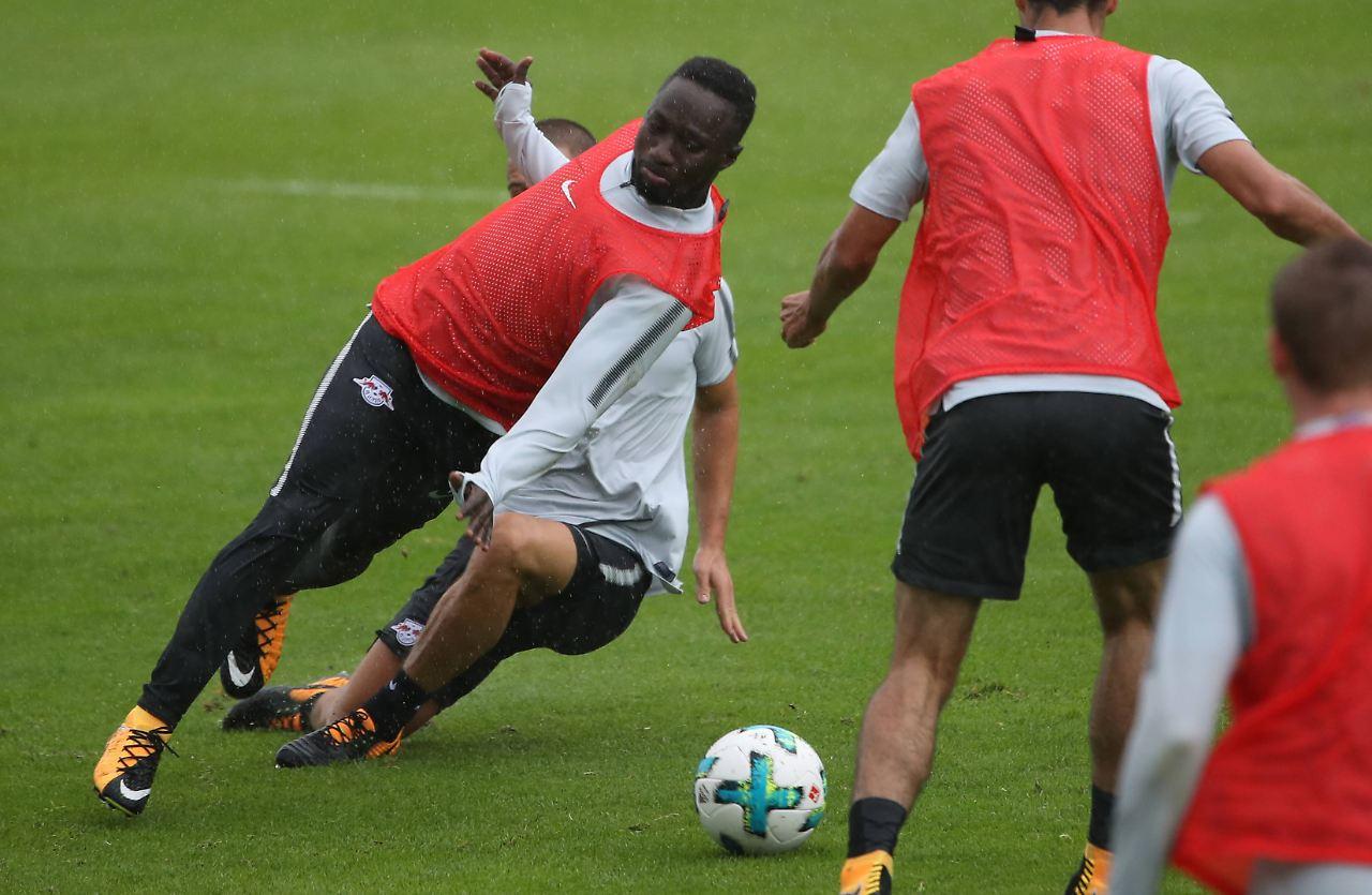 Beendet Leipzigs Keita hier die Saison von Teamkollege Demme?