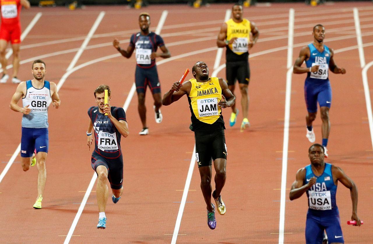 Usain Bolt Sturz