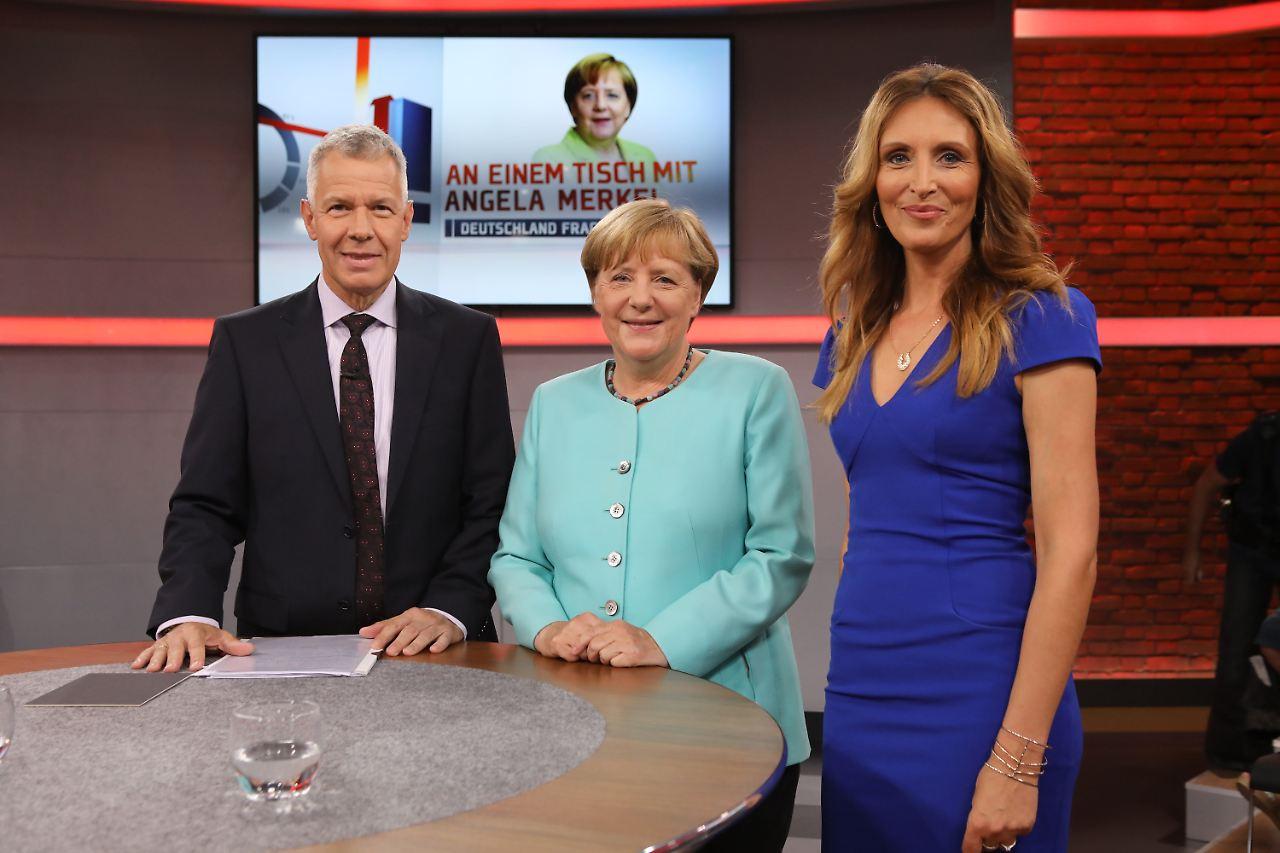 Merkel nach Abgasskandal gegen Dieselfahrverbote
