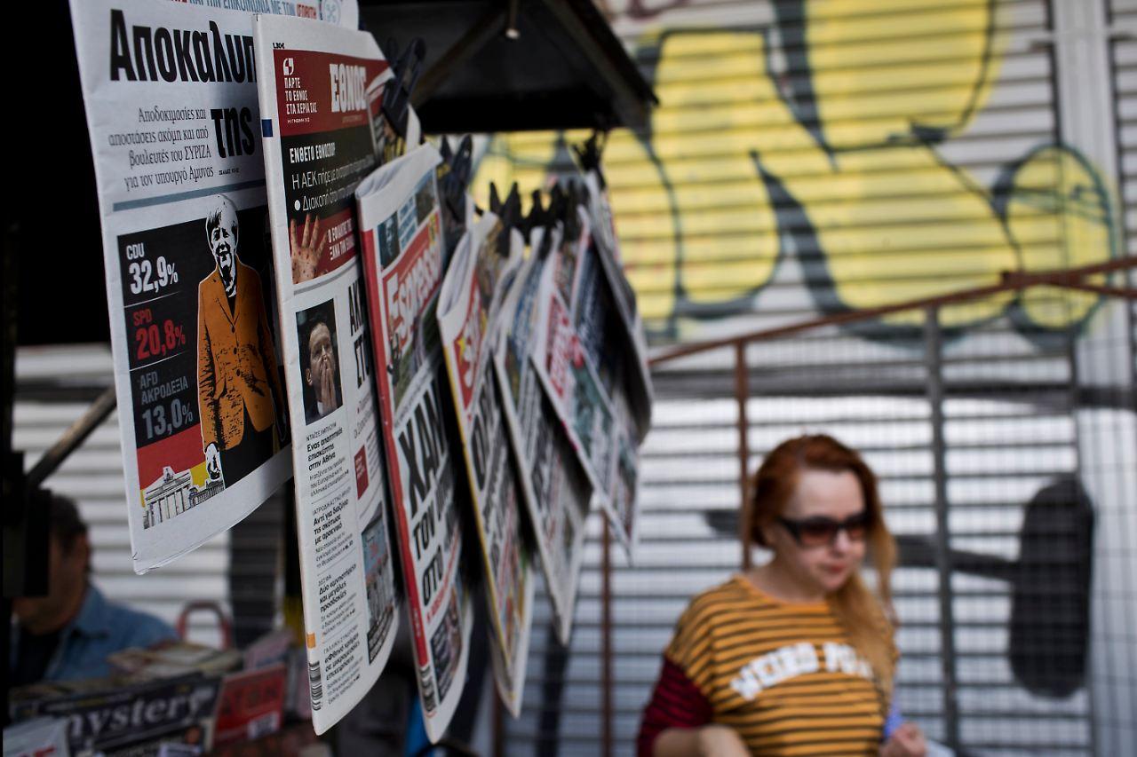 Nachrichten Griechenland