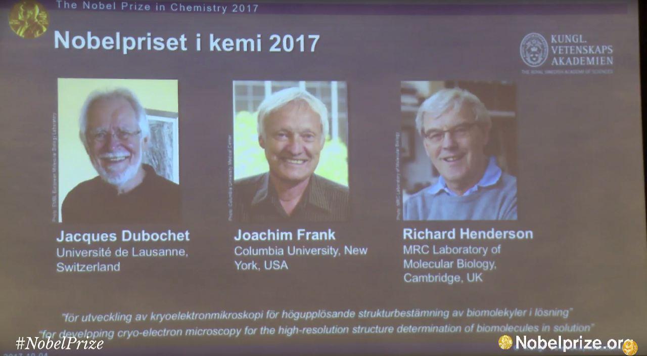 Neue chemie nobelpreisträger: drei forscher für mikroskopie technik