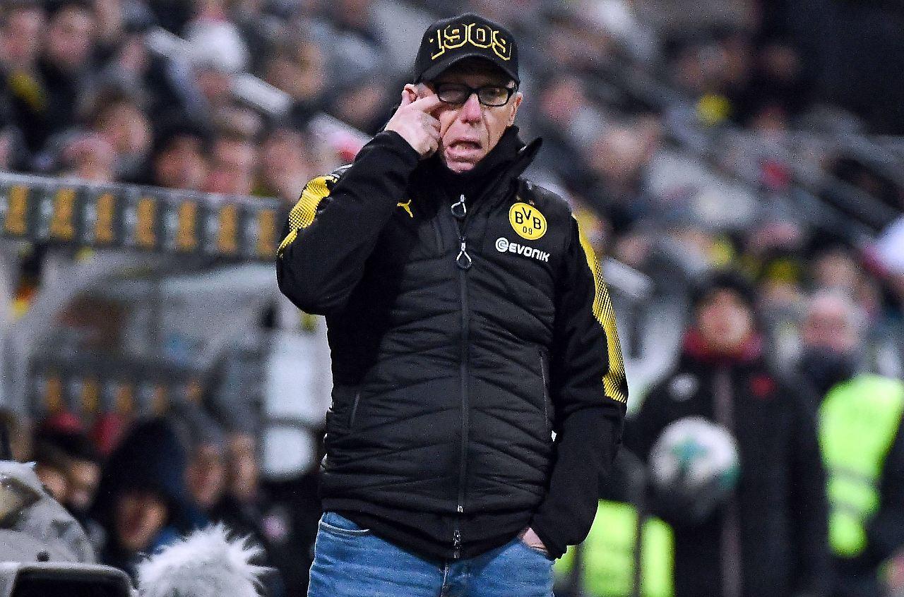 Stöger siegt mit Dortmund 2:1 gegen Hoffenheim - Spätes Tor