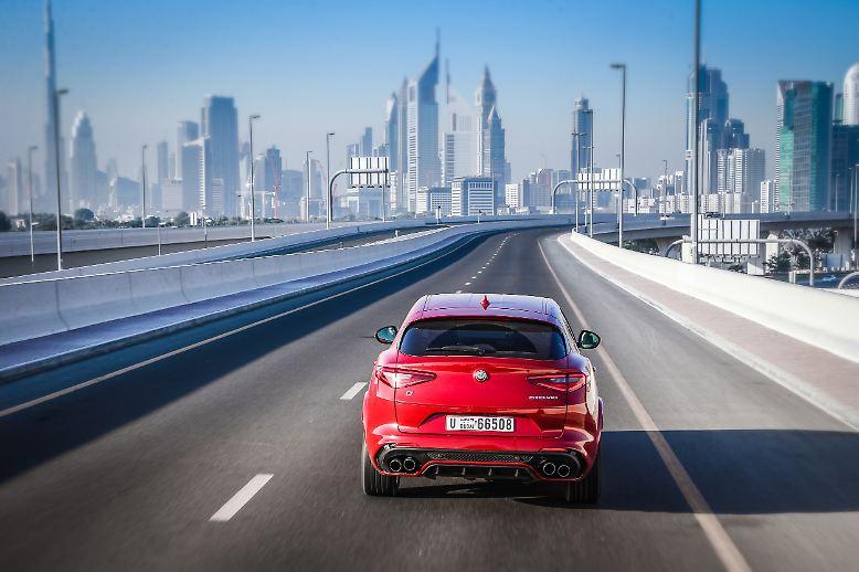 Zum Jahresstart steht die Sport-Version des SUV Alfa Romeo Stelvio neu beim Händler: Der Allrader mit Beinamen Quadrifoglio Verde protzt mit 510 PS.