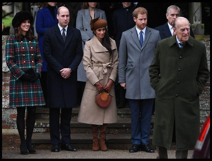 ... Prinz Philip, dessen Unterstützung und Humor sie hervorhebt. Insgesamt gaben die Royals zum Fest ein sehr harmonisches Bild ab. (fhe/dpa/AFP)