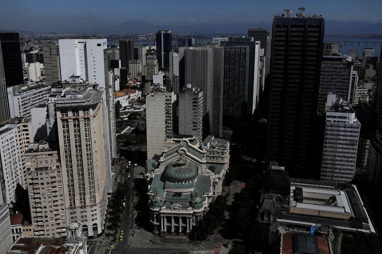 Rio de Janeiro hat ein beeindruckendes Stadttheater.