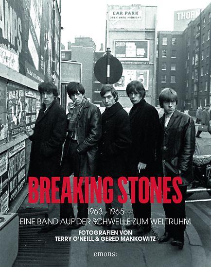 """""""Breaking Stones - 1963-1965, Eine Band auf der Schwelle zum Weltruhm"""" ist bei Emons erschienen, gebunden, 240 Seiten, 200 Abbildungen, 39,95 Euro."""