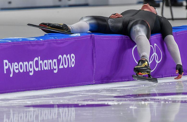 Sie muss sich in Pyeongchang geschlagen geben.