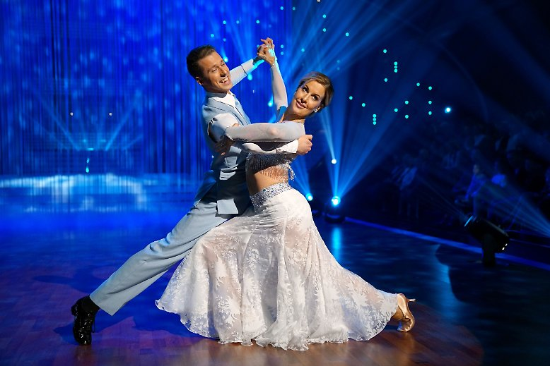 """Ja, auch im deutschen """"Let's Dance"""" tanzen sie ..."""