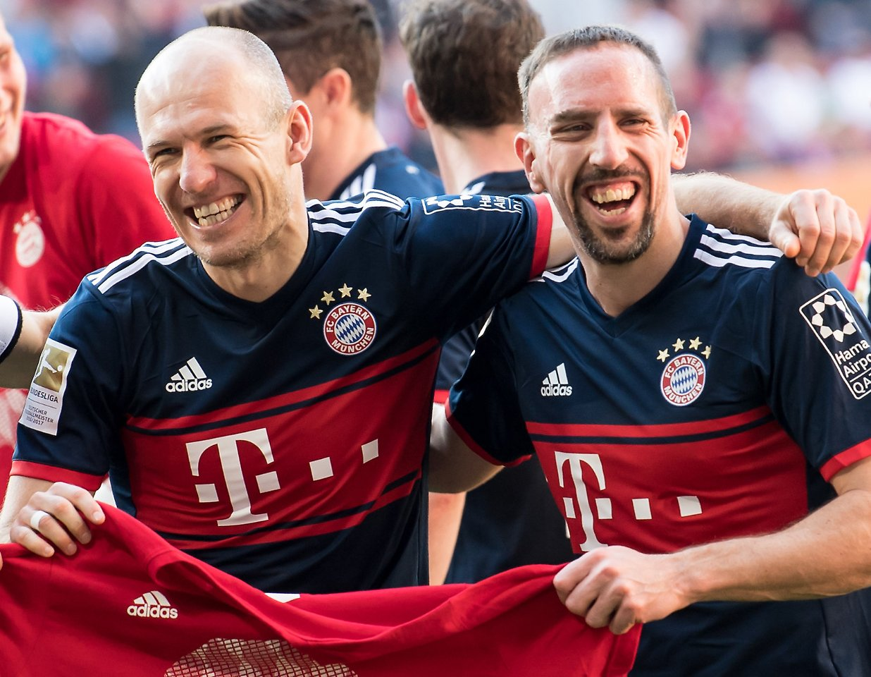 Perfekt: Ribéry verlängert Vertrag beim FC Bayern