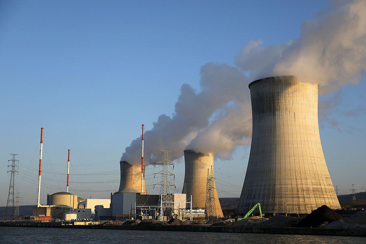 Belgien Atomkraftwerk