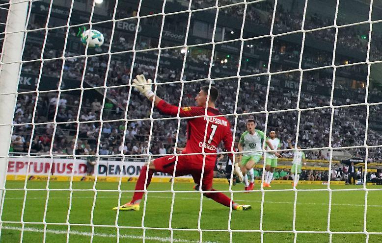 Borussia Mönchengladbach – VfL Wolfsburg 3:0 (3:0)