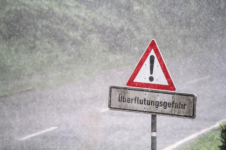 Regen im Ruhrgebiet, ...