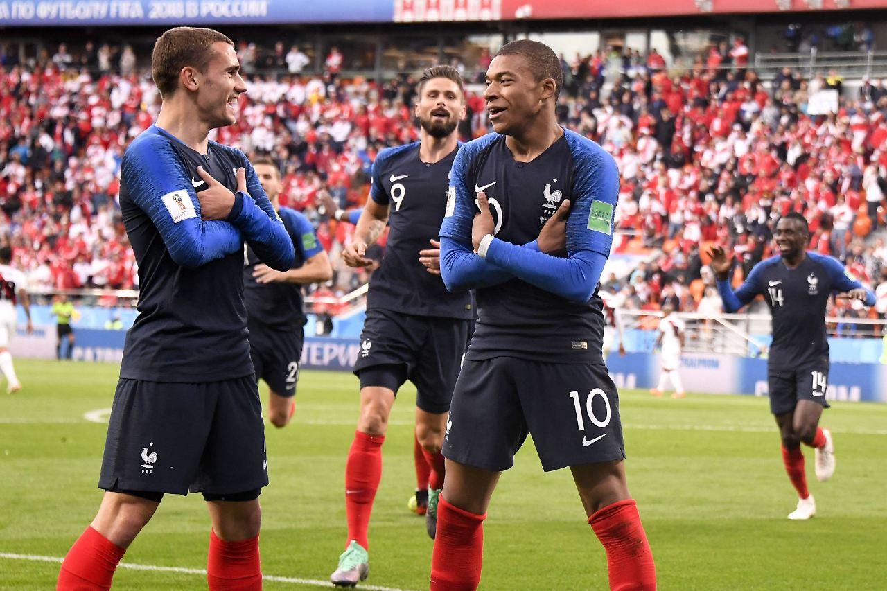 Torschützen Frankreich