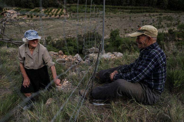 Seit mehr als 30 Jahren leben Juan Martin Colomer und seine Frau Sinforosa Sancho allein in La Estrella.