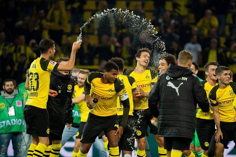 Borussia Dortmund - 1. FC Nürnberg (7:0)