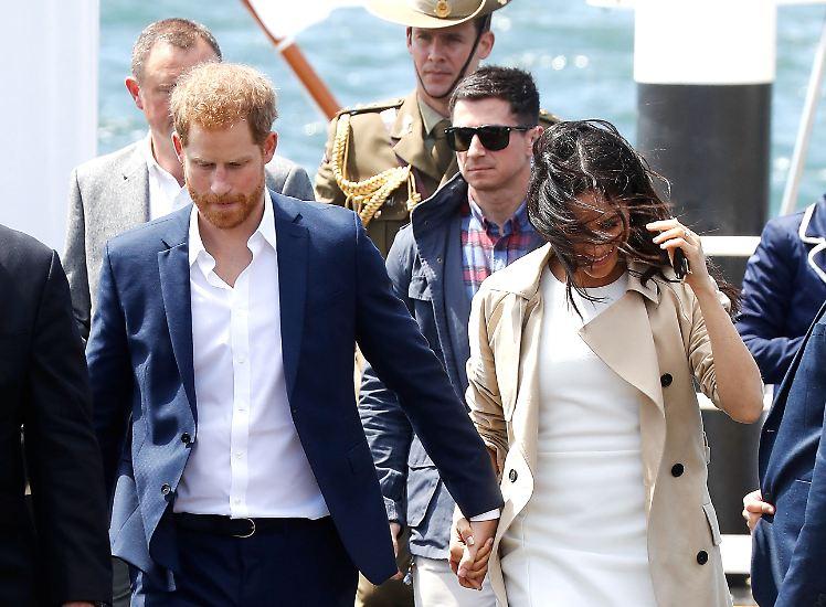 Ihre erste offizielle Auslandsreise führt Herzogin Meghan und Prinz Harry nach Australien.