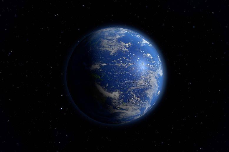 Die Erde wird auch als Blauer Planet bezeichnet, denn rund zwei Drittel ihrer Oberfläche sind vom Wasser der Ozeane und Meere bedeckt.