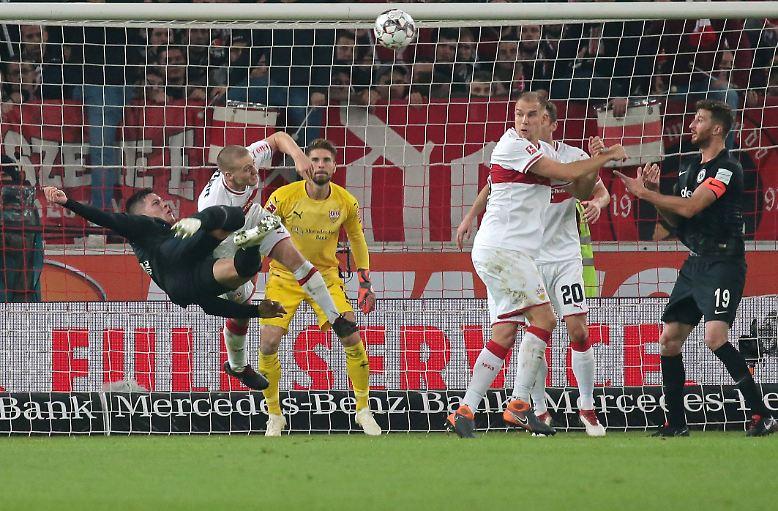 VfB Stuttgart - Eintracht Frankfurt 0:3 (0:2)