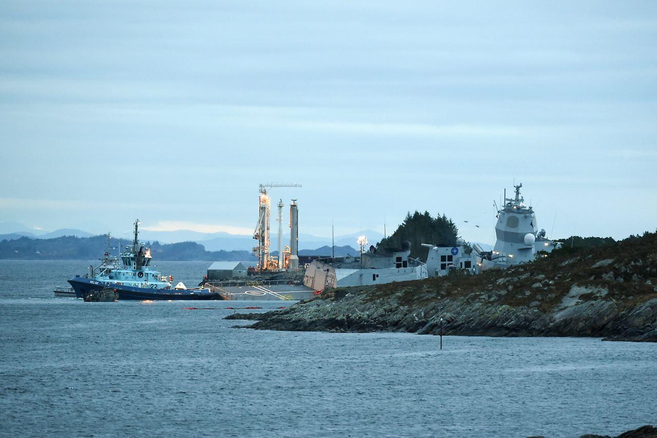 Norwegische Fregatte kollidiert nach NATO-Übung mit Tanker