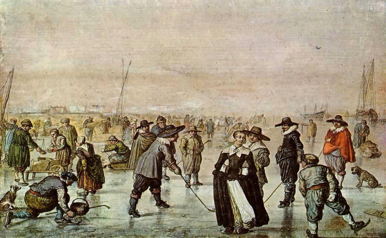Szenen einer Eiszeit: Als Rembrandt Schlittschuh lief - n-tv.de