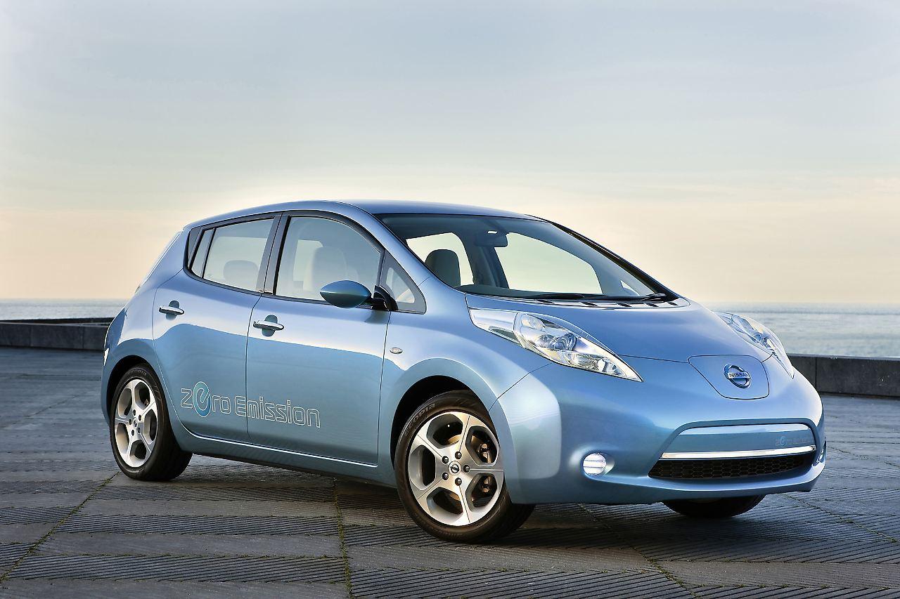 nissan leaf das erste von vielen elektroautos n