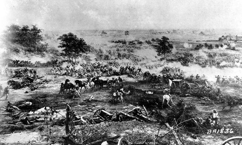 Die Schlacht von Gettysburg gilt als wichtiger Wendepunkt im amerikanischen Bürgerkrieg. Drei Tage lang, vom 1. bis zum 3. Juli 1863, kämpfte Südstaaten-General Robert Lee für die Konföderierten gegen die Unionsarmee der Nordstaaten. Über 5000 Soldaten starben, mehr als 40.000 wurden verletzt.