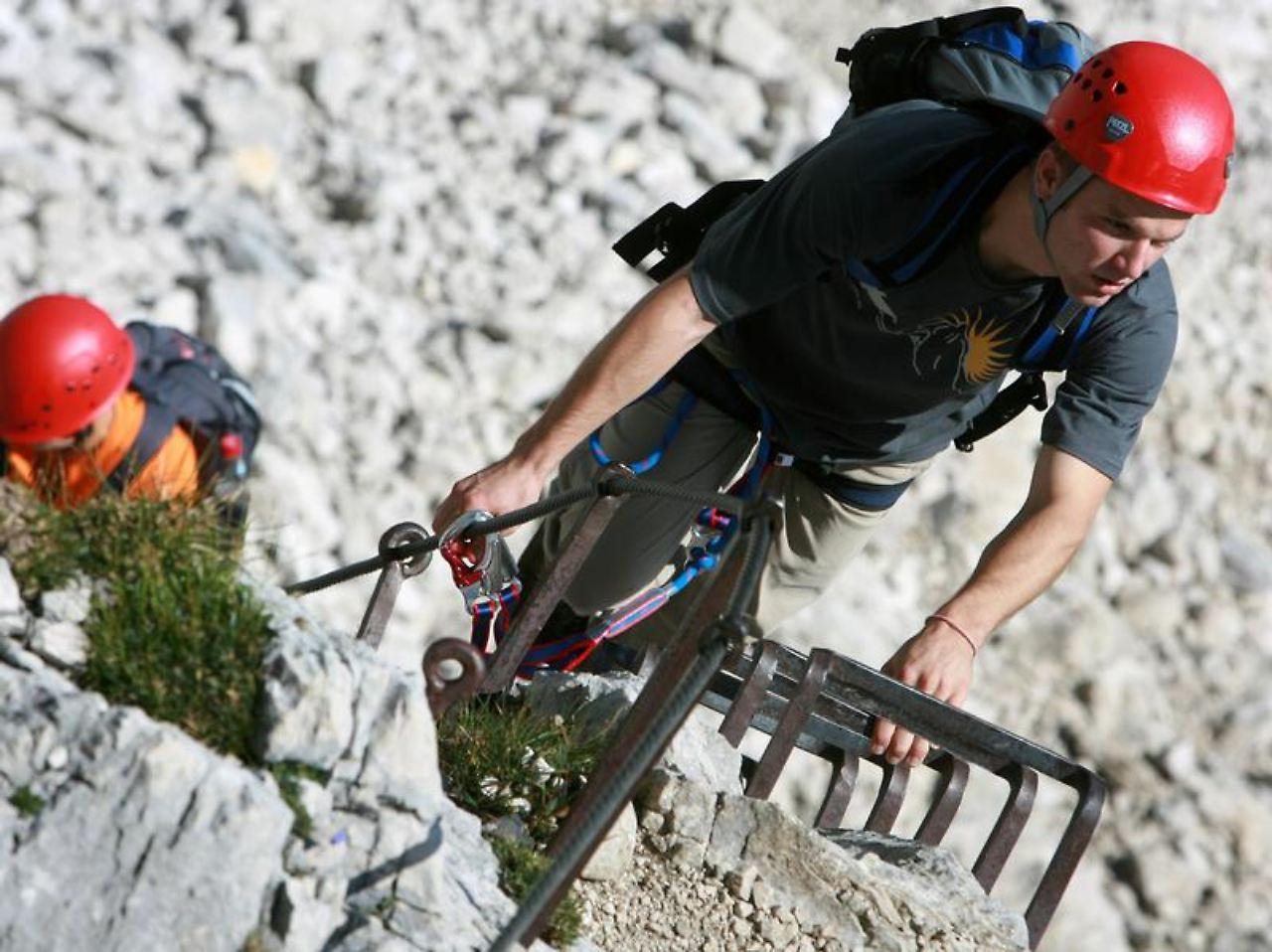 Klettersteig Ausrüstung : Klettersteig sets im test bergsteiger magazin