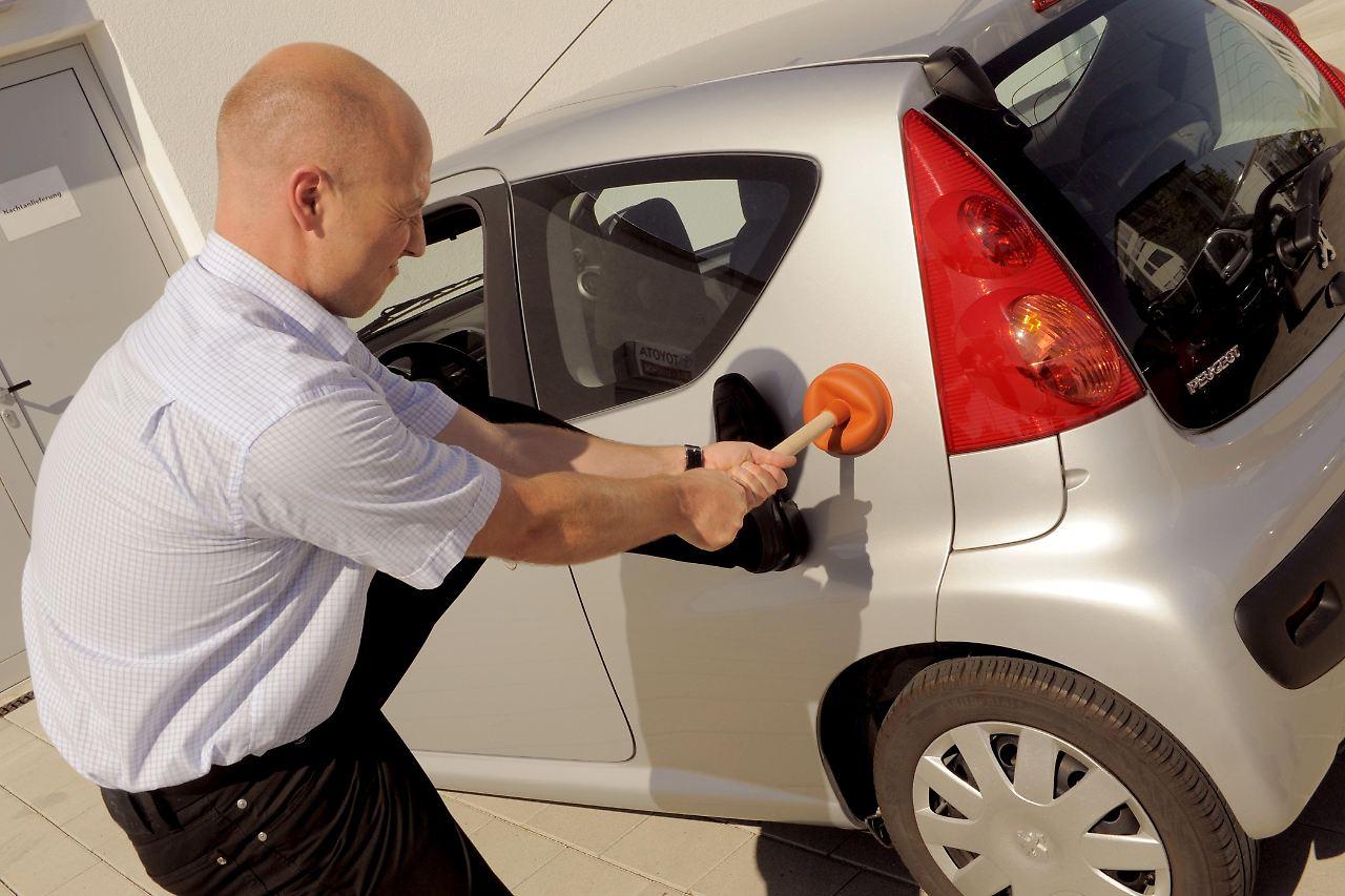 smart repair dellen im auto g nstig entfernen n
