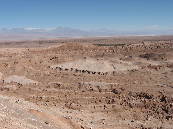 Die Atacama-Wüste im Norden Chiles gilt als trockenste Wüste überhaupt.