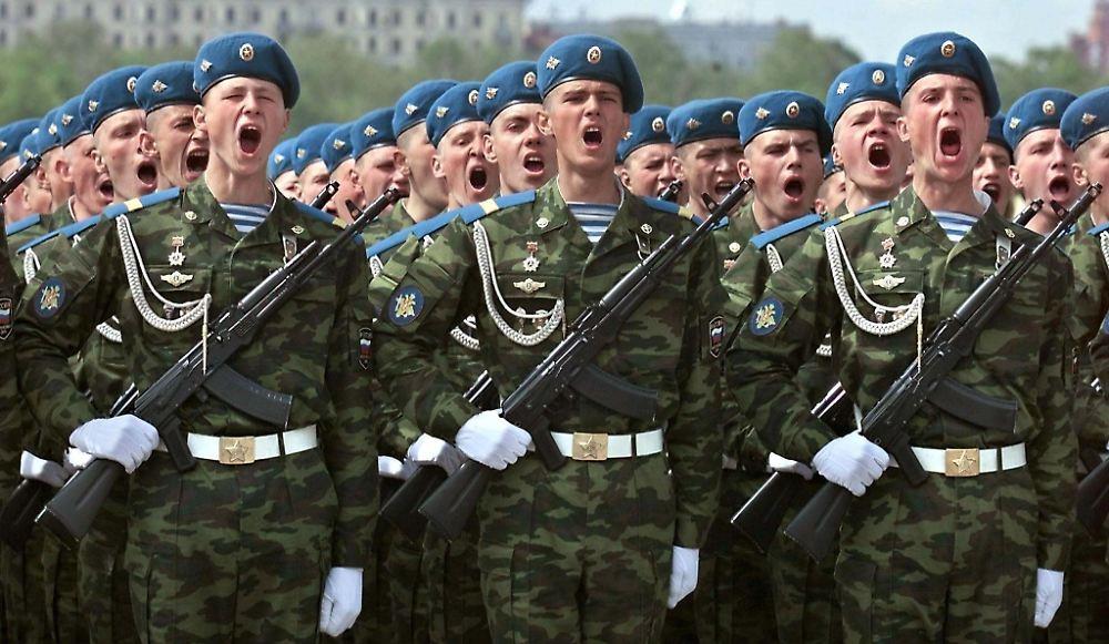 Russische Armee kennzeichnet russische Luft