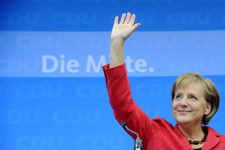 Erleichterung bei der CDU, …