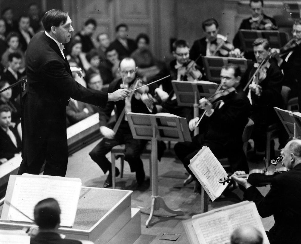 一位忠实于音乐的东德系指挥家——苏特纳