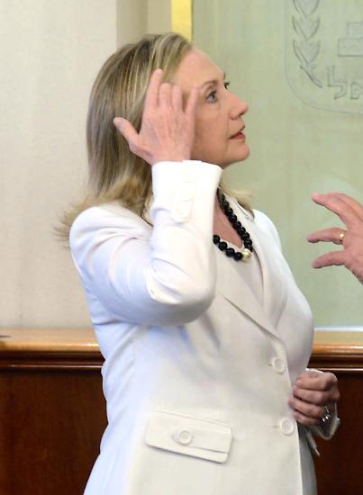 Hillary Clinton hat ein Leben lang nach der richtigen Frisur gesucht.