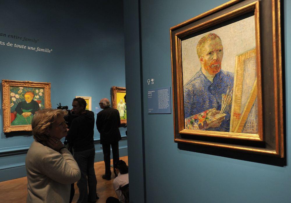 Briefe Von Van Gogh : Der künstler und seine briefe ausstellung zeigt quot wahren