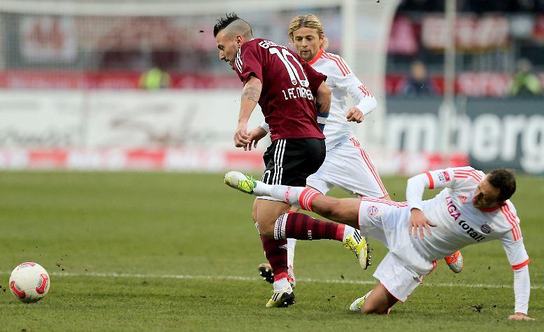 """""""Das größte Lob ist, dass sich der FC Bayern über unsere Spielweise ärgert"""", befand Martin Bader, Manager des 1. FC Nürnberg nach dem 1:1 gegen die bayerischen Rivalen."""