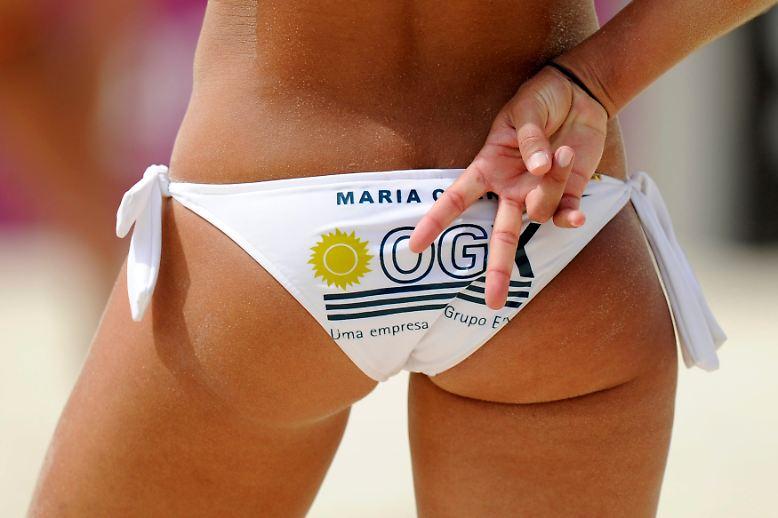 Bei Beachvolleyballerinnen durfte das Höschen an der Außenseite des Oberschenkels bis vor wenigen Monaten nicht breiter als sieben Zentimeter sein, ansonsten drohte die Disqualifikation.