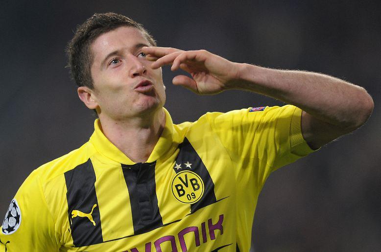 ... und Lewandowski sowie Mats Hummels zu den besten Dortmundern ...