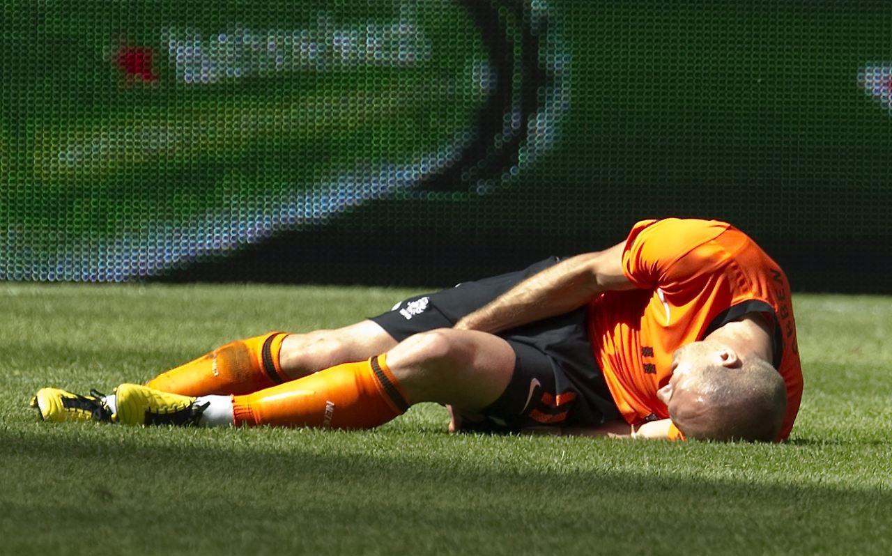 Verletzung Robben
