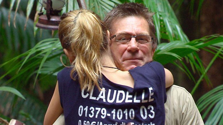 Arno Funke muss gehen, Claudelle Deckert verabschiedet ihn.