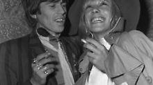Richards und Pallenberg feiern in Cannes1967.