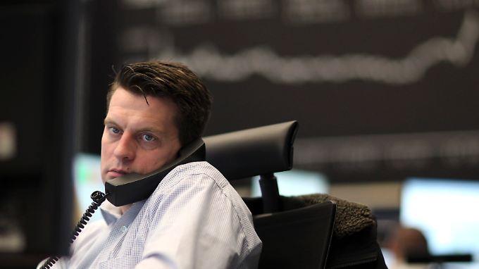 Nach dem Rekord-Montag gab es heute keine Freudensprünge an der Börse.