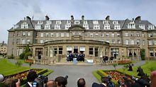 In Gleneagles vereinbarten die G8-Länder eine Aufstockung der Entwicklungshilfe