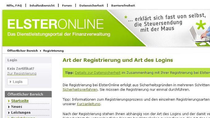Dem Elsteronline-Portal steht in diesem Jahr ein Relaunch bevor.