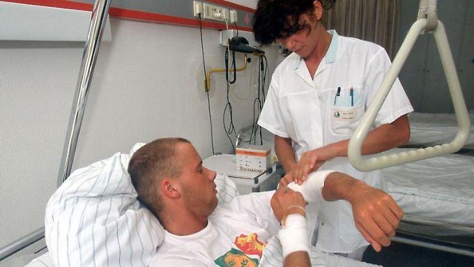 Tschüß Mehrbettzimmer. Wer sich zusätzlich versichert, liegt im Krankenhaus komfortabler.